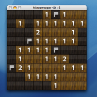 Games Minesweeper Wood