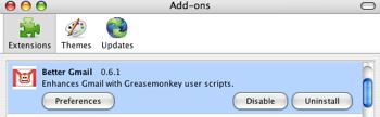 Firefox Better Gmail
