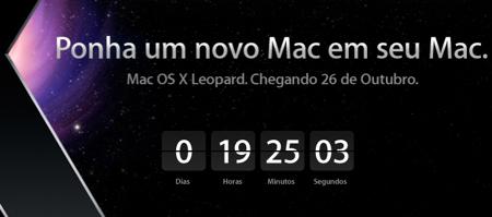Mac Os X Leopard Countdown