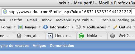 Orkut Perfil