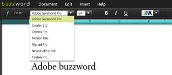 Buzzword Type
