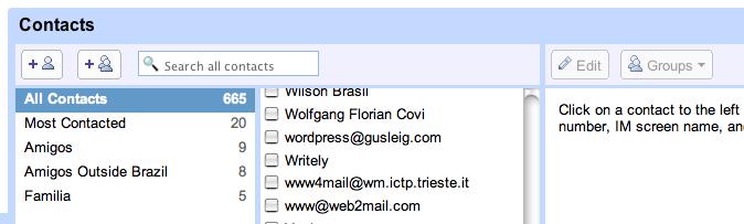 nova versão do gmail