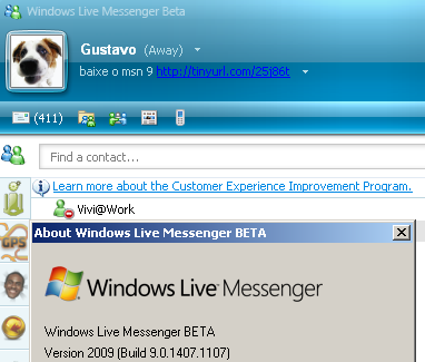 messenger 9 beta