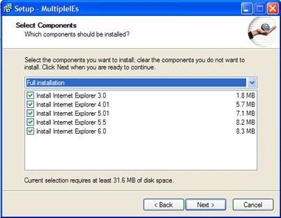 multiple internet explorer