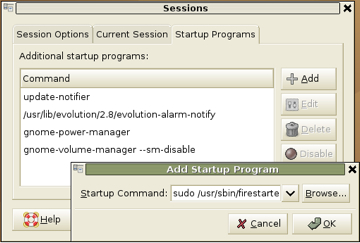 Firestarter Program Rule