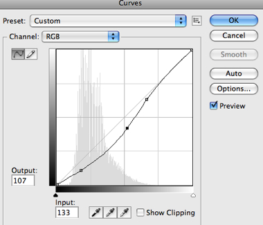 New Adjustment Layer Curves