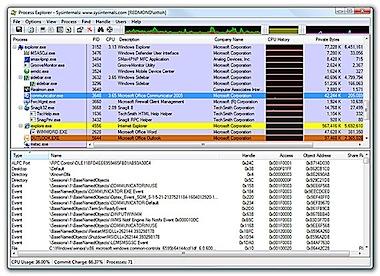 process explorer sysinternals