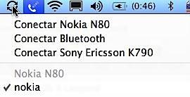 finder modem celular menu