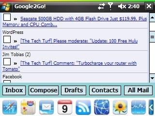 google2go screen