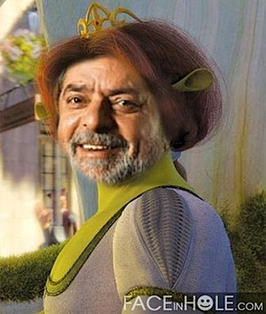 lula princesa do shrek