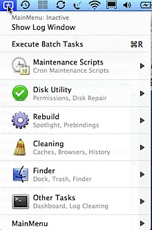 mainmenu mac maintenance