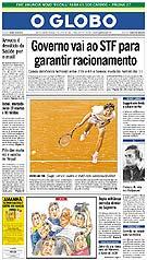 o globo março 2001