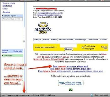 como identificar spam ou hacker no email