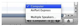 airport express itunes