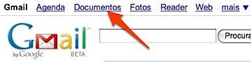 gmail - google docs buttom
