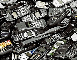 lixeira de tecnologia