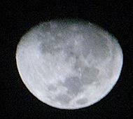 foto da lua - moon picture by gustavo leig