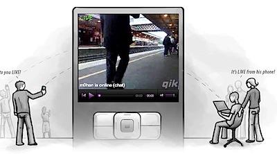 qik streaming celular ao vivo