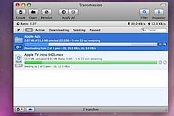 transmission mac bittorrent