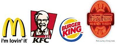 mcdonalds kfc burger king logo