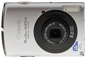 Canon PowerShot SD870 IS Digital ELPH Digital