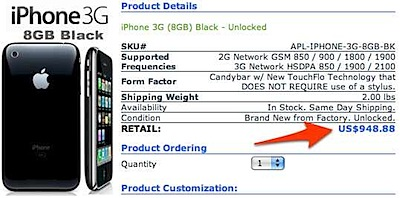 Celluloco.com Apple-iPhone 3G 8GB (Black)Revolutionary Bluetooth_Wi-Fi Enabled Quadband