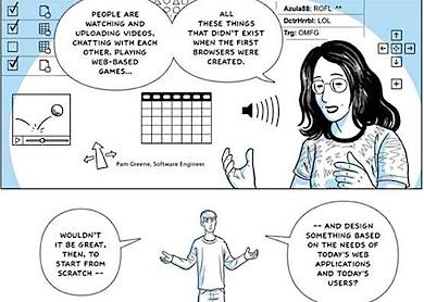 Google Chrome comics 1