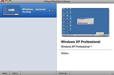 Virtual Machine Library vmware fusion