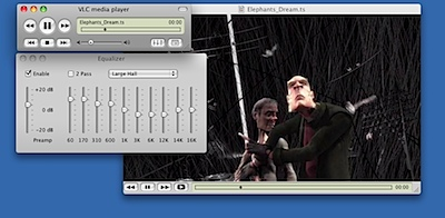 vlc videolan osx-0.9.2-equalizer