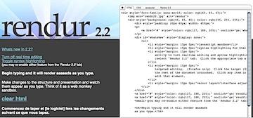css html test drive rendur