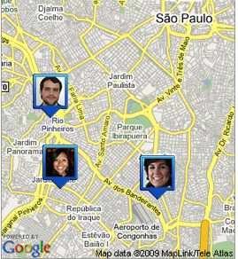 google latitude sao paulo