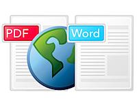 convert pdf2word