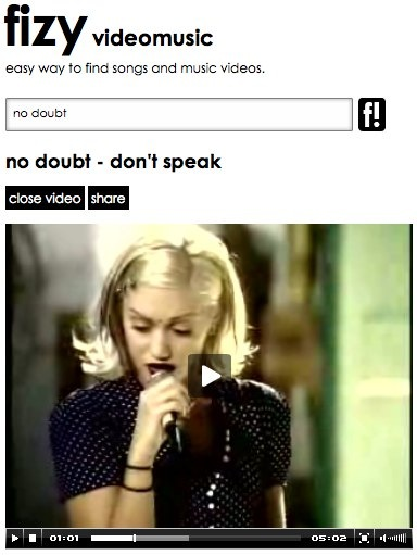 no doubt - don_t speak _ fizy