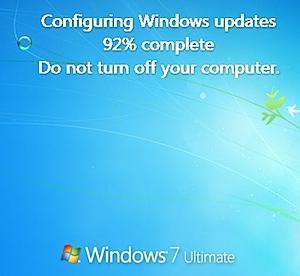 configuring windows 7 updates