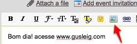 gmail insert image icon