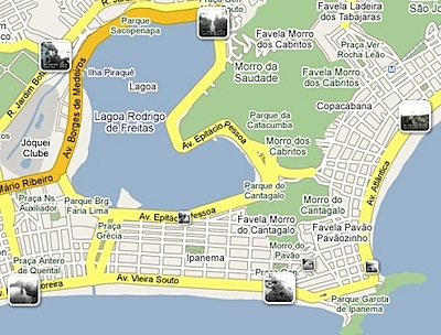 Google Maps webcams