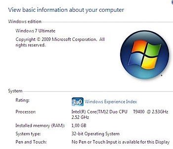 windows 7 panel