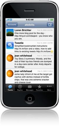 iphone tweetie