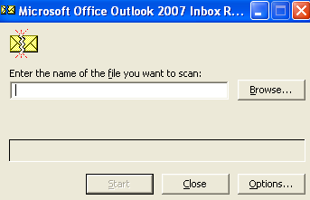 microsoft office outlook 2007 recovery tool pst