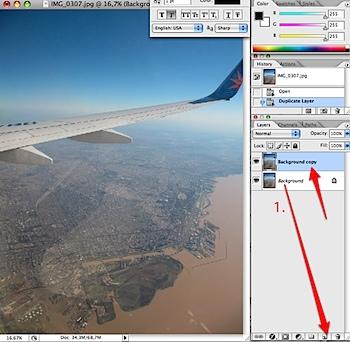 Photoshop create layer copy