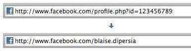 facebook login username change
