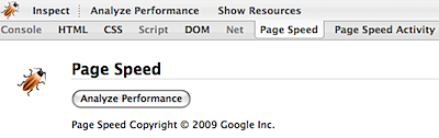 google page speed firebug