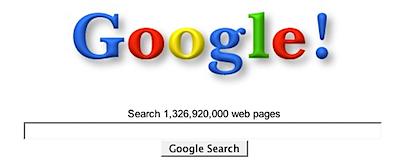old google logo 2001
