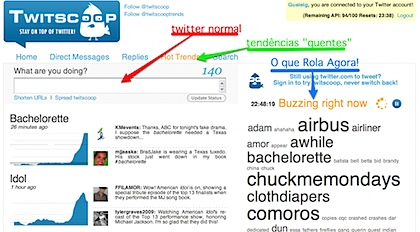 Twitscoop - Stay on top of twitter! - Search twitter, twitter client, hot trends