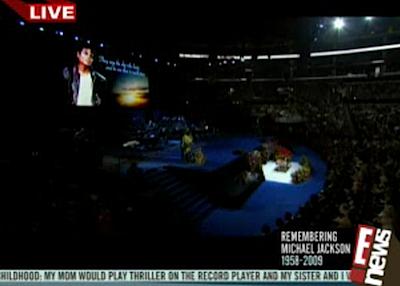 E! Online - MJ Memorial on Justin.tv