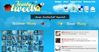 Nearby Tweets - Instantly find twitterers nearby