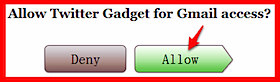Twitter Gadget for Gmail-1