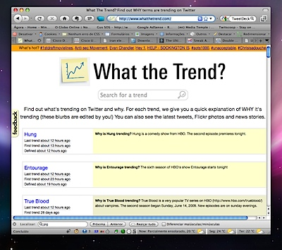 What The Trend? Find out WHY terms are trending on Twitter
