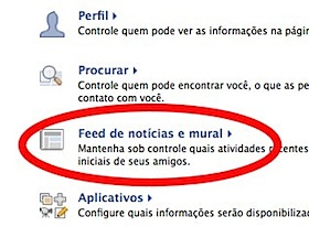 facebook privacy feed
