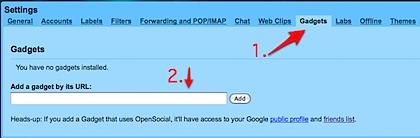 gmail settings gadgets-1